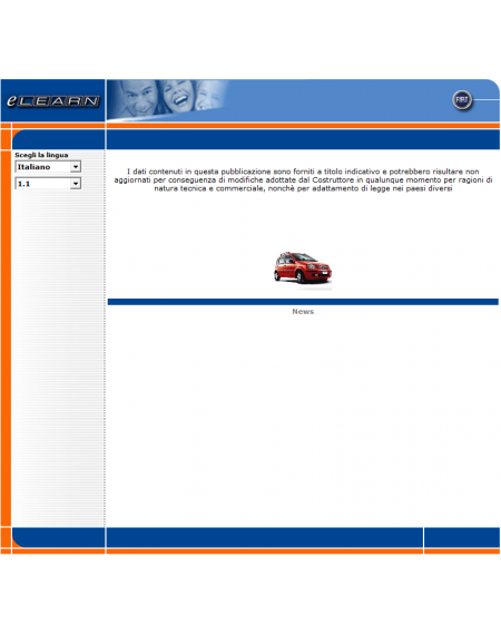 E-LEARN FIAT PANDA (169) - MANUALE OFFICINA