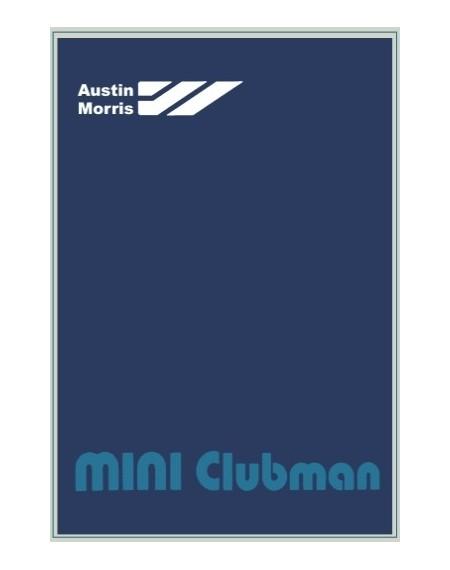 Austin Morris Mini Clubman 1979 - manuale uso e manutenzione