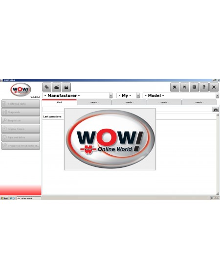WOW WURTH 5.00.4 + FW 1321 ENGLISH BANCA DATI
