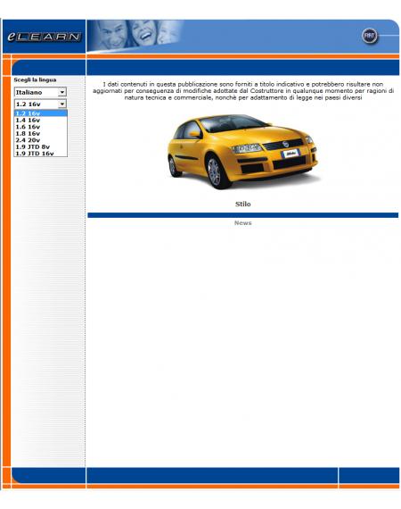 E-LEARN FIAT STILO - MANUALE OFFICINA