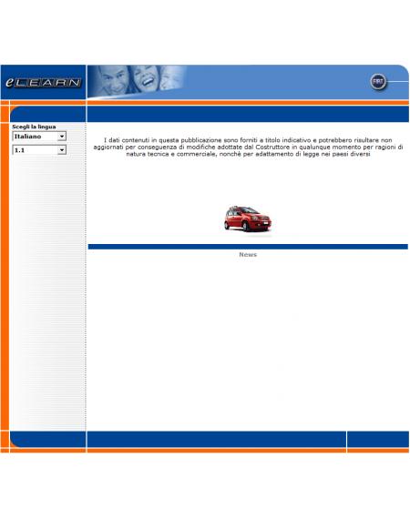 E-LEARN FIAT PANDA (169) - MANUALE OFFICINA