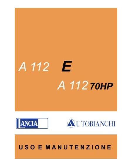 Autobianchi A 112 Elite / 70HP - manuale uso e manutenzione