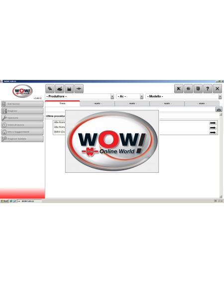 WOW WURTH 5.00.12 + FW 1622 ITALIANO BANCA DATI